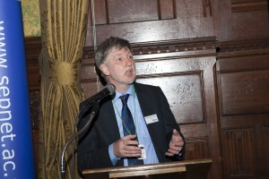 HEFCE's Professor David Sweeney launching SEPnet Phase 2 at Parliament, July 2013