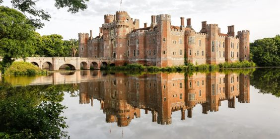 The beautiful Herstmonceux Castle